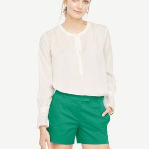 Jade Green Dress Shorts by Ann Taylor